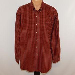 Ralph Lauren long sleeve button down collar shirt.  XL